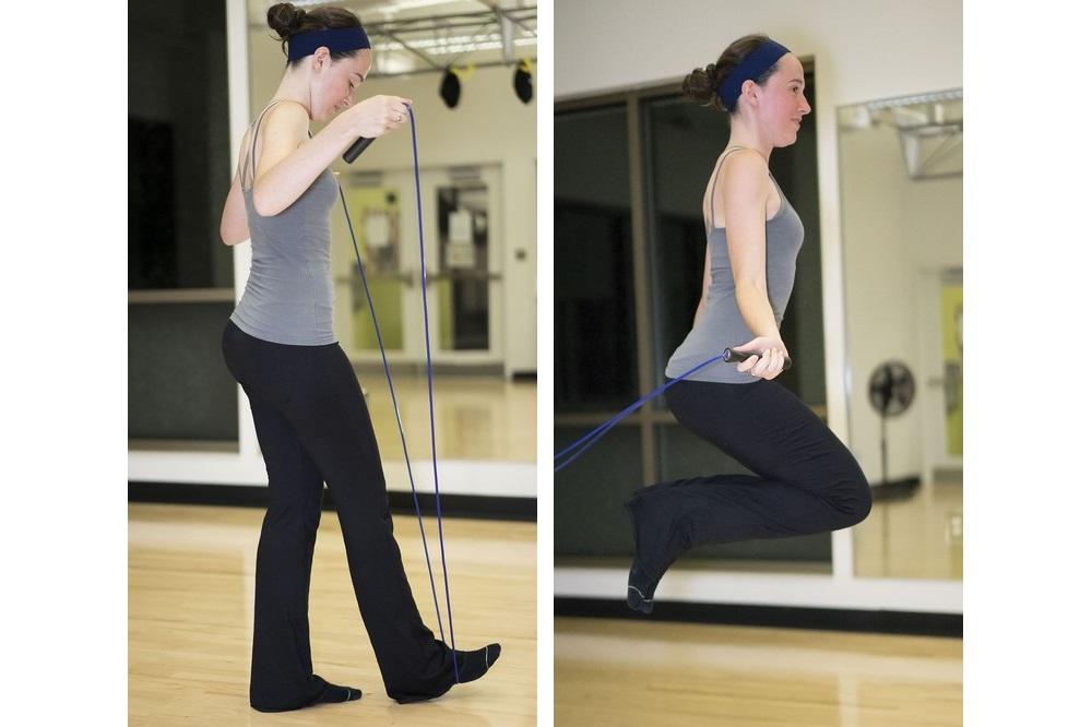 Korte dagelijkse workout om in vorm te blijve